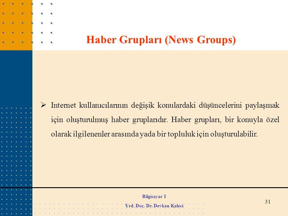 Haber Grupları (News Groups)