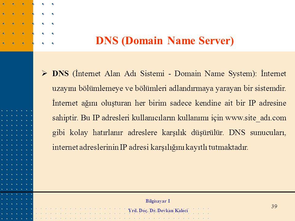 DNS (Domain Name Server)