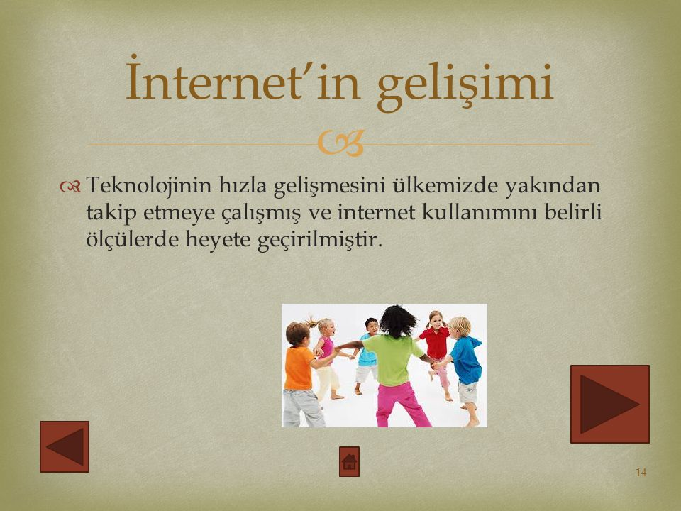İnternet'in gelişimi