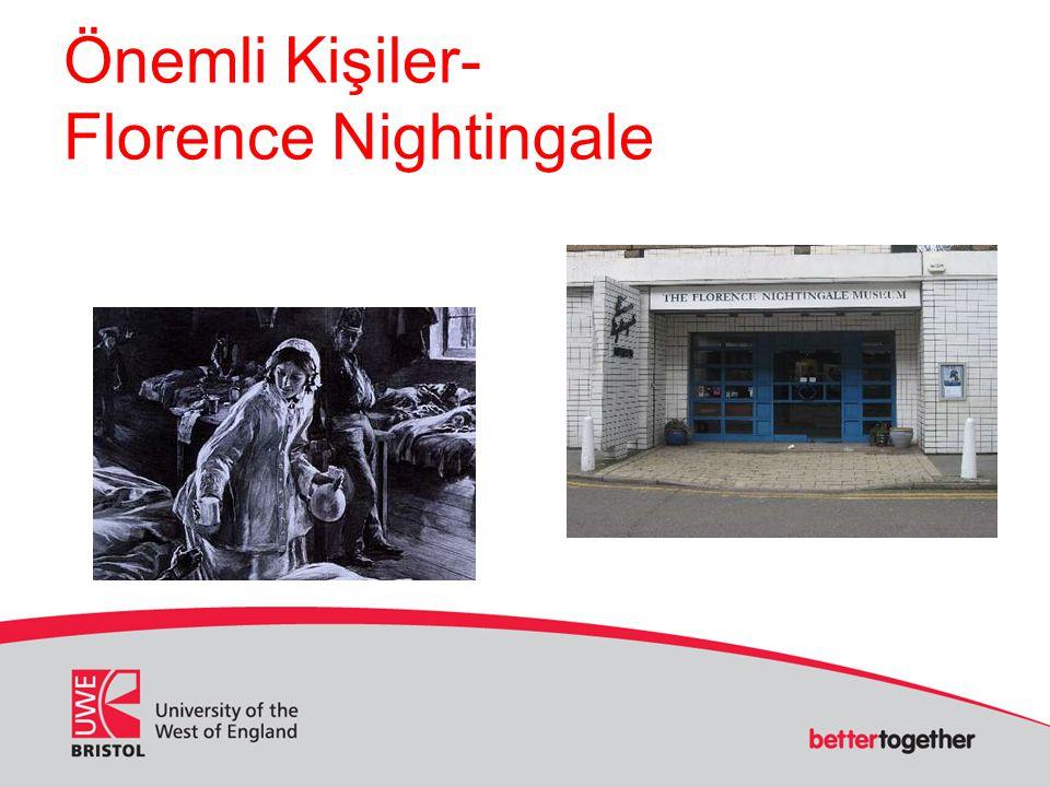 Önemli Kişiler- Florence Nightingale