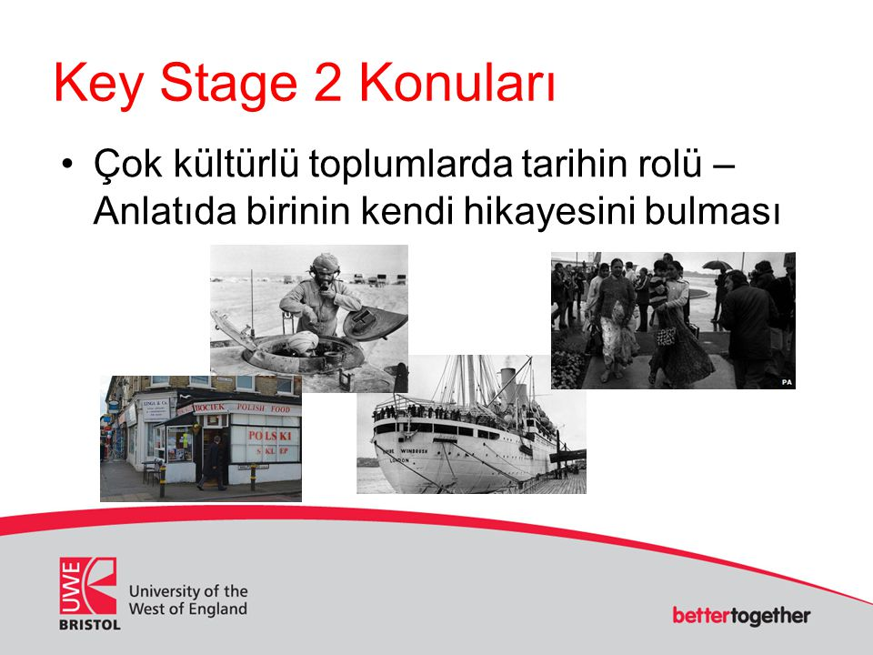 Key Stage 2 Konuları Çok kültürlü toplumlarda tarihin rolü – Anlatıda birinin kendi hikayesini bulması.