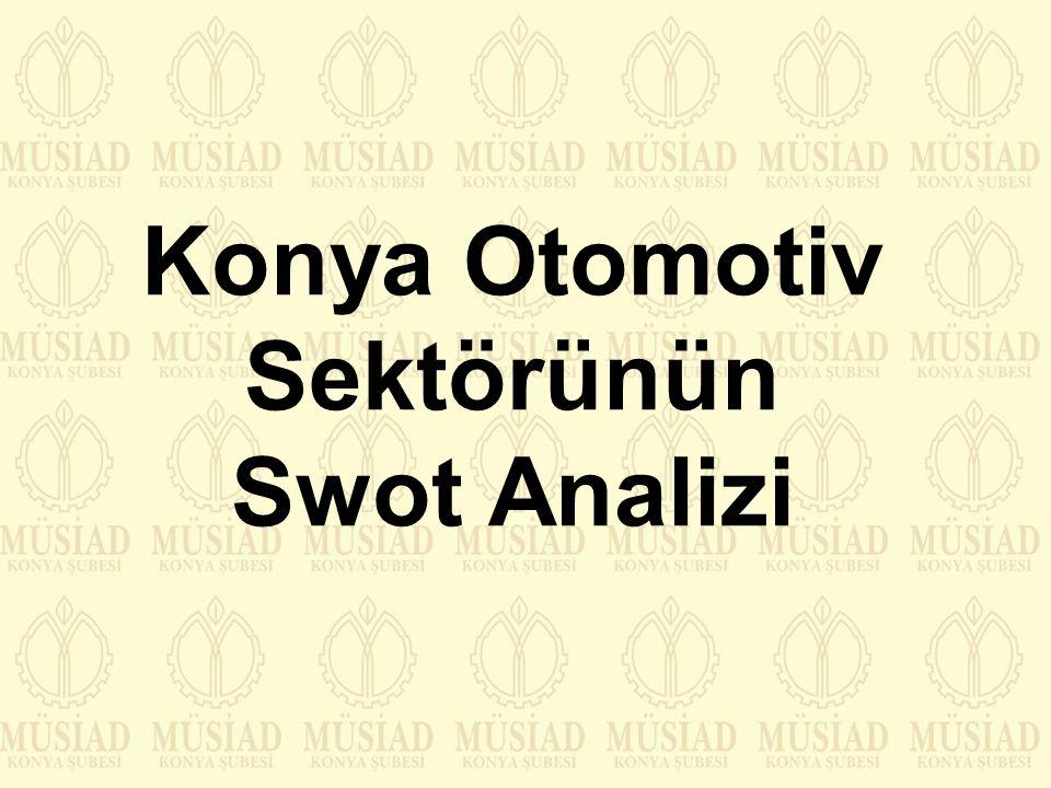 Konya Otomotiv Sektörünün Swot Analizi
