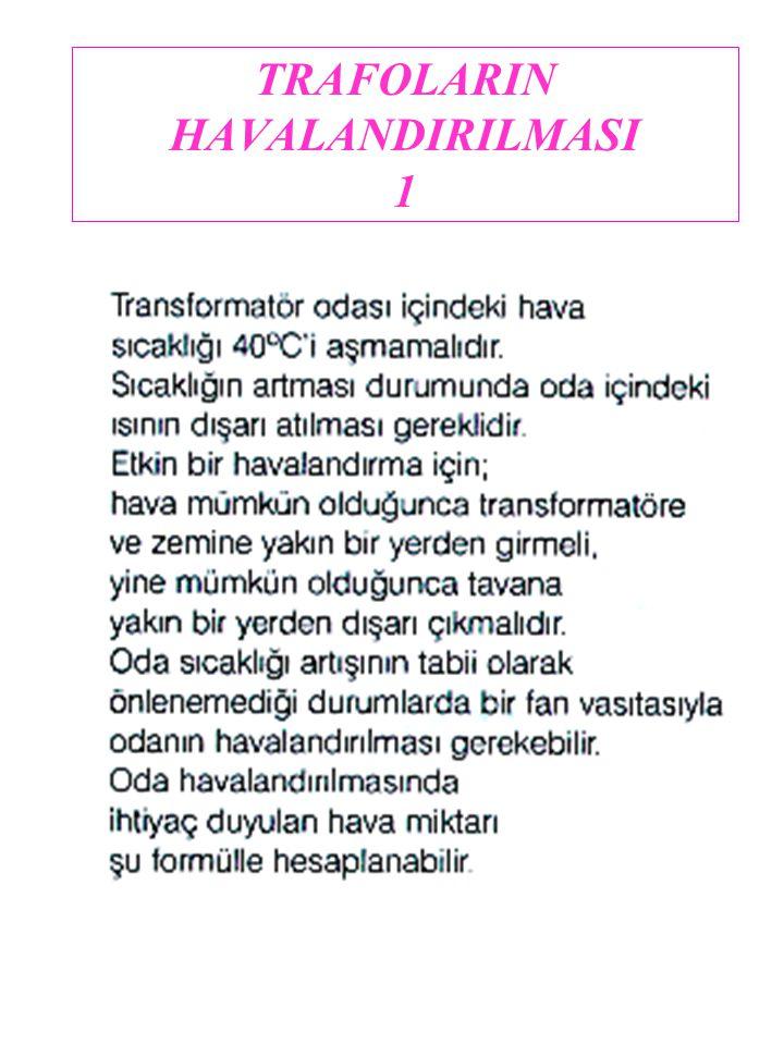 TRAFOLARIN HAVALANDIRILMASI 1