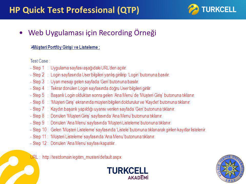 HP Quick Test Professional (QTP)