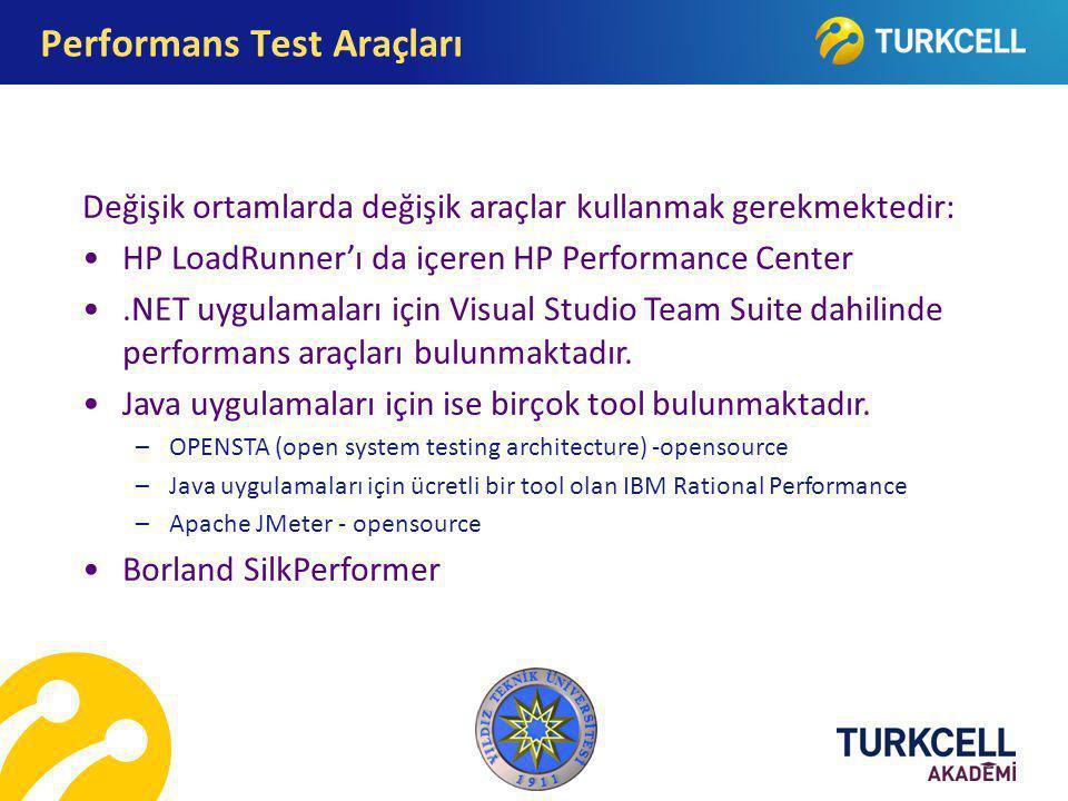 Performans Test Araçları