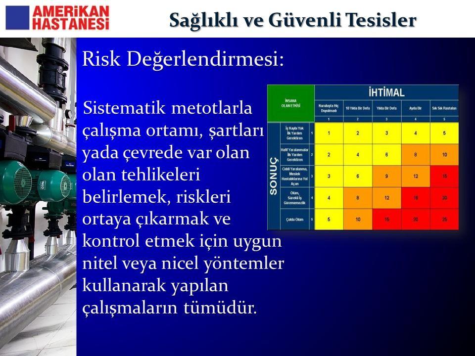 Sağlıklı ve Güvenli Tesisler