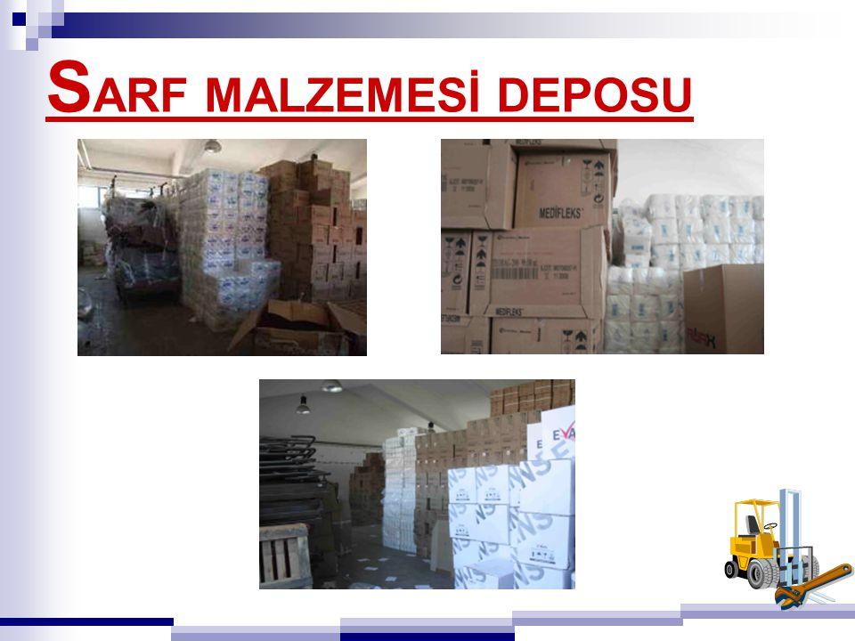 SARF MALZEMESİ DEPOSU