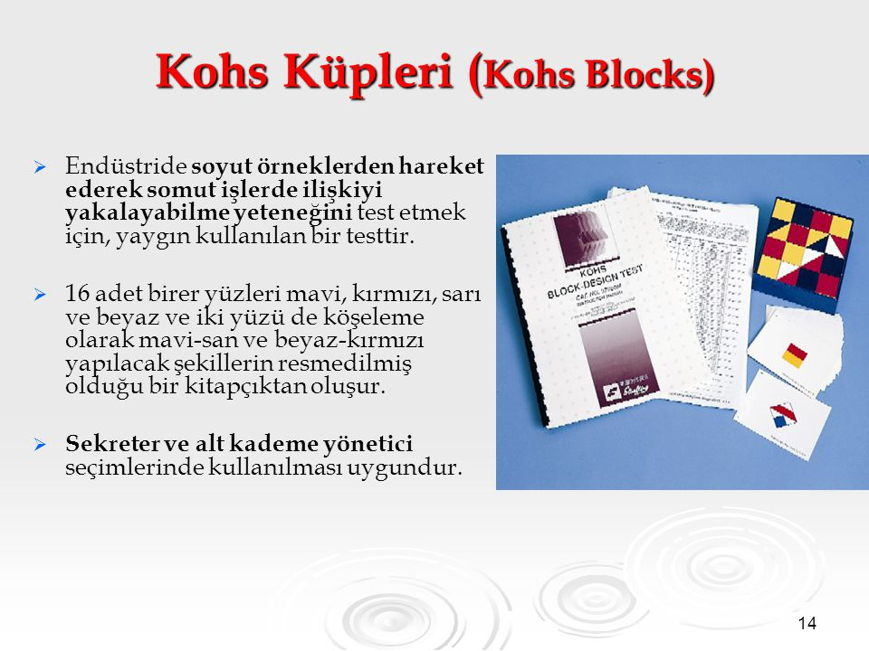 Kohs Küpleri (Kohs Blocks)