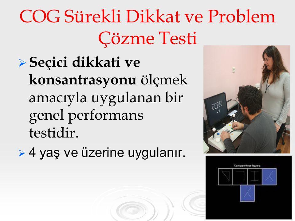 COG Sürekli Dikkat ve Problem Çözme Testi