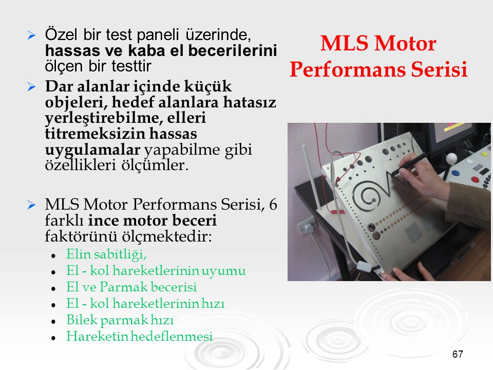 MLS Motor Performans Serisi