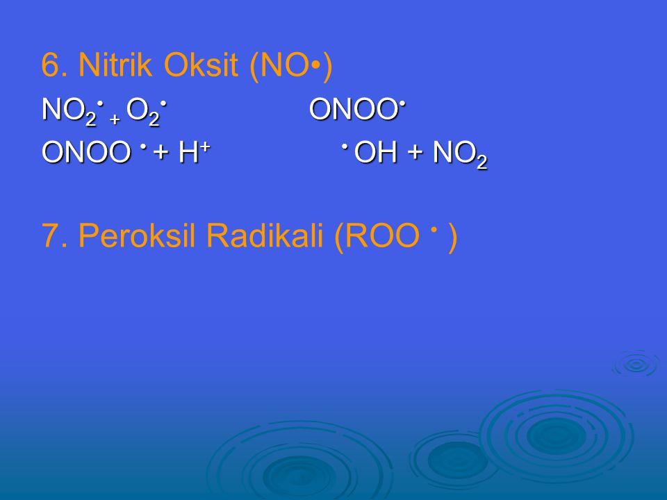7. Peroksil Radikali (ROO • )