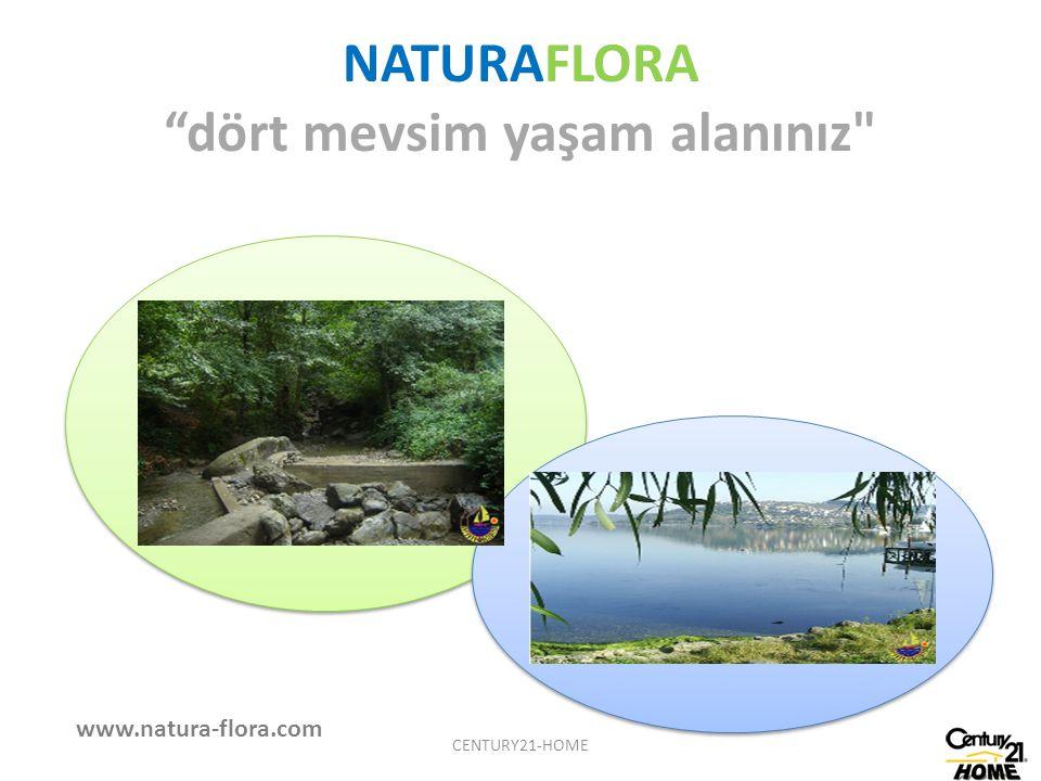 NATURAFLORA dört mevsim yaşam alanınız