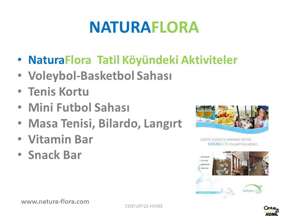 NATURAFLORA Voleybol-Basketbol Sahası Tenis Kortu Mini Futbol Sahası