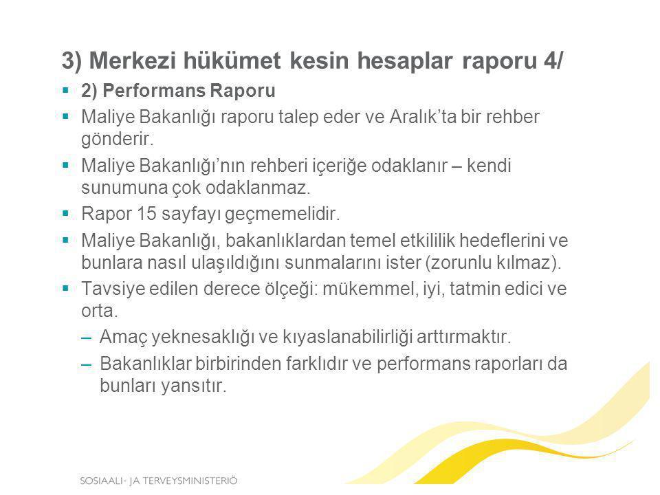 3) Merkezi hükümet kesin hesaplar raporu 4/