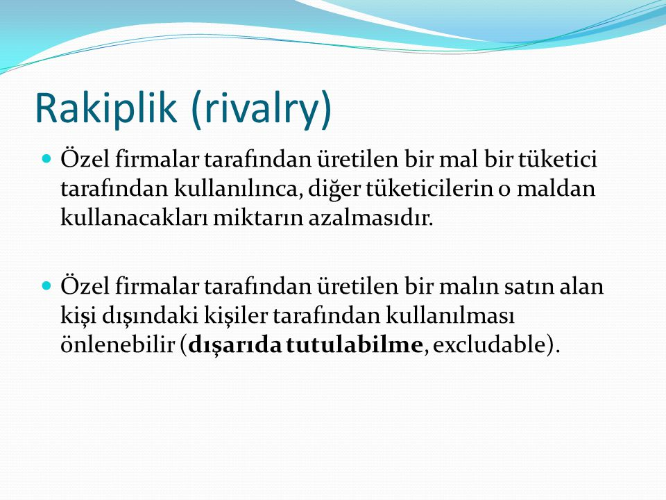 Rakiplik (rivalry)