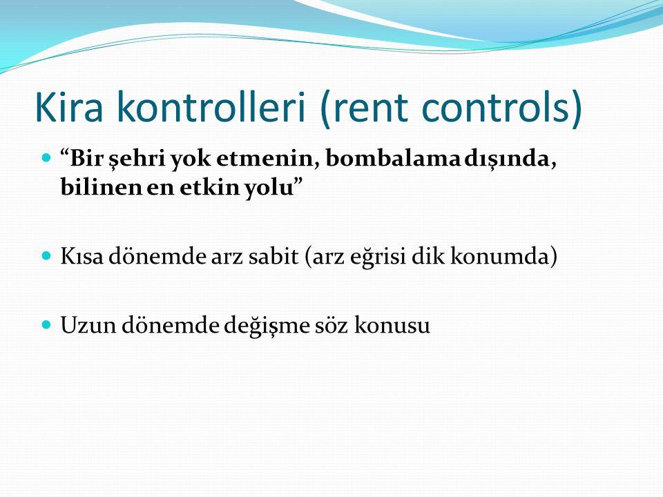 Kira kontrolleri (rent controls)