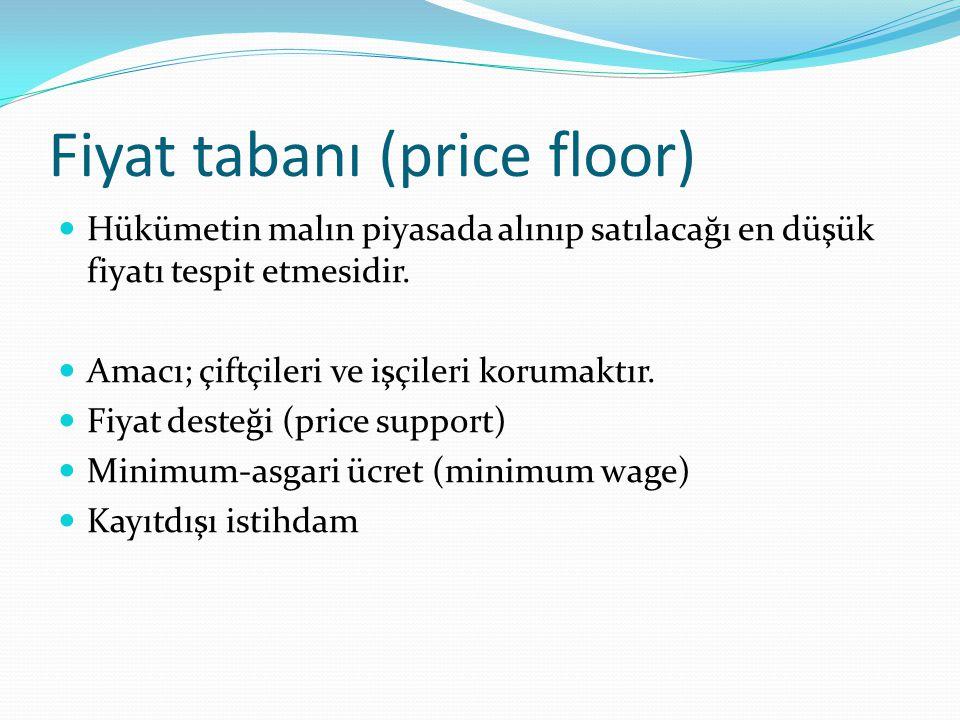 Fiyat tabanı (price floor)