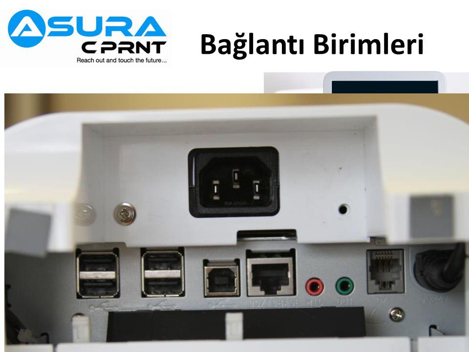 Bağlantı Birimleri USB-Host x 4 (Type A) USB-Device x 1 (Type B)