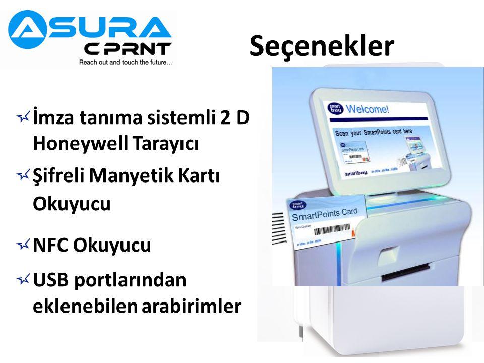 Seçenekler İmza tanıma sistemli 2 D Honeywell Tarayıcı