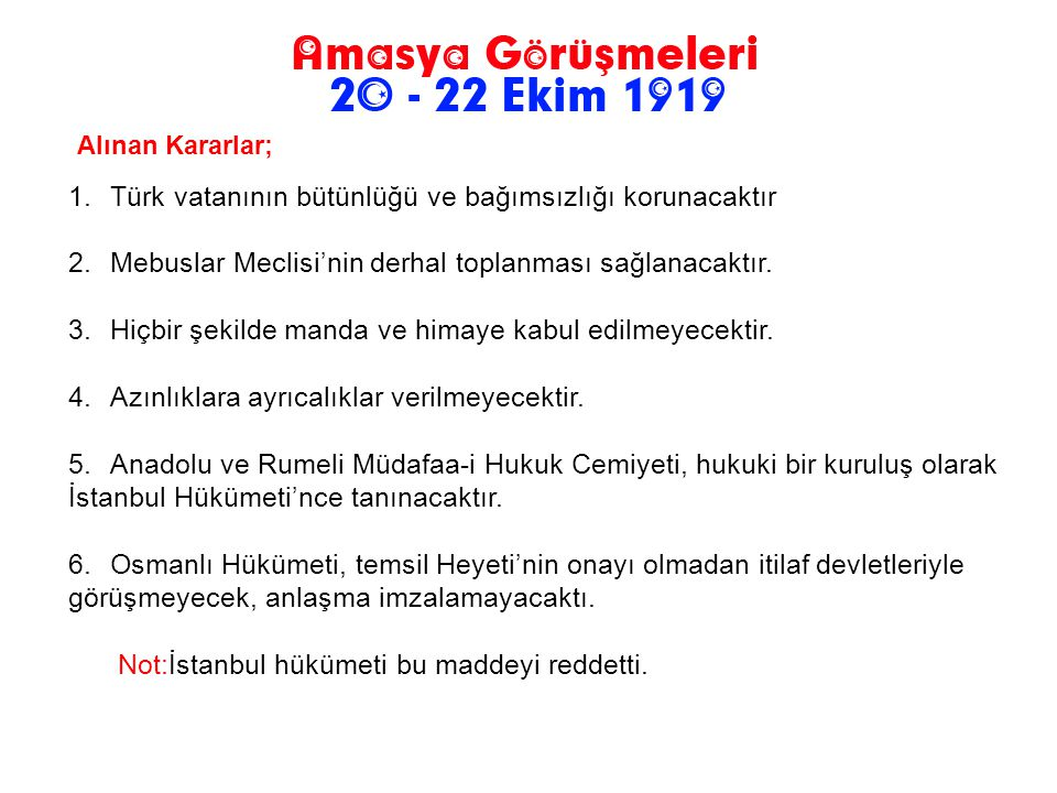 Türk vatanının bütünlüğü ve bağımsızlığı korunacaktır