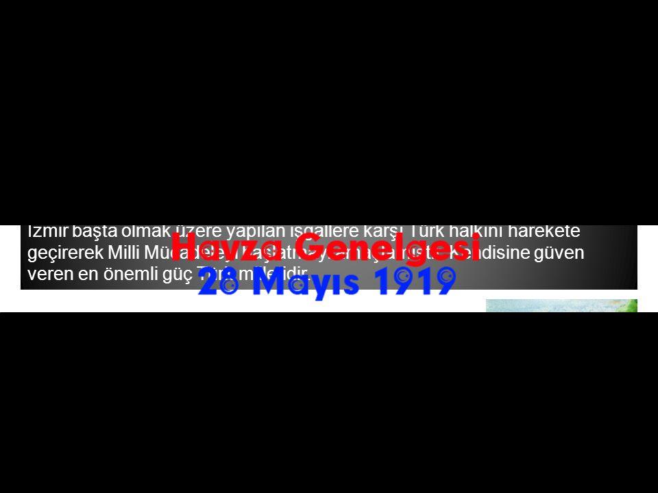 Mustafa Kemal 25 Mayıs 1919 tarihinde Havza'ya geçmiştir