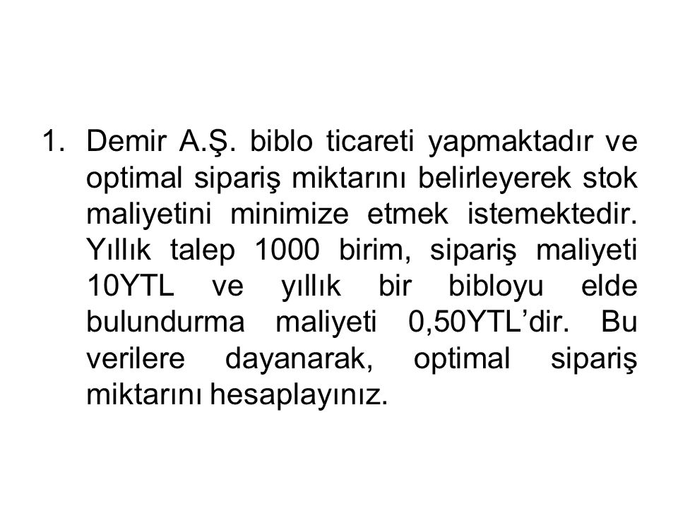 Demir A.Ş.