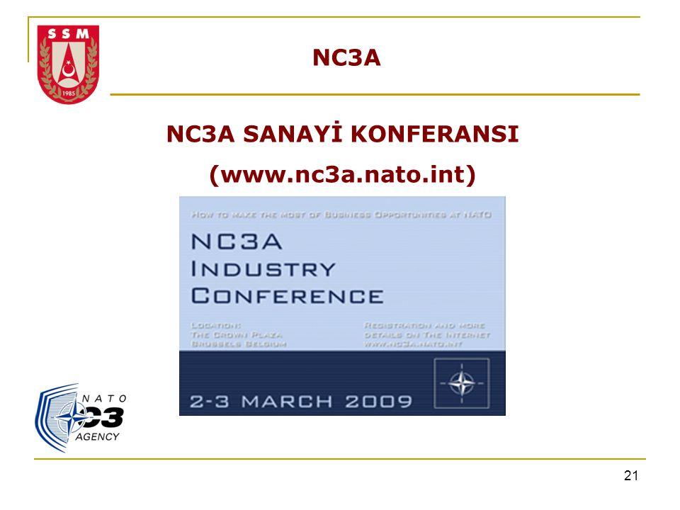 NC3A NC3A SANAYİ KONFERANSI (www.nc3a.nato.int)