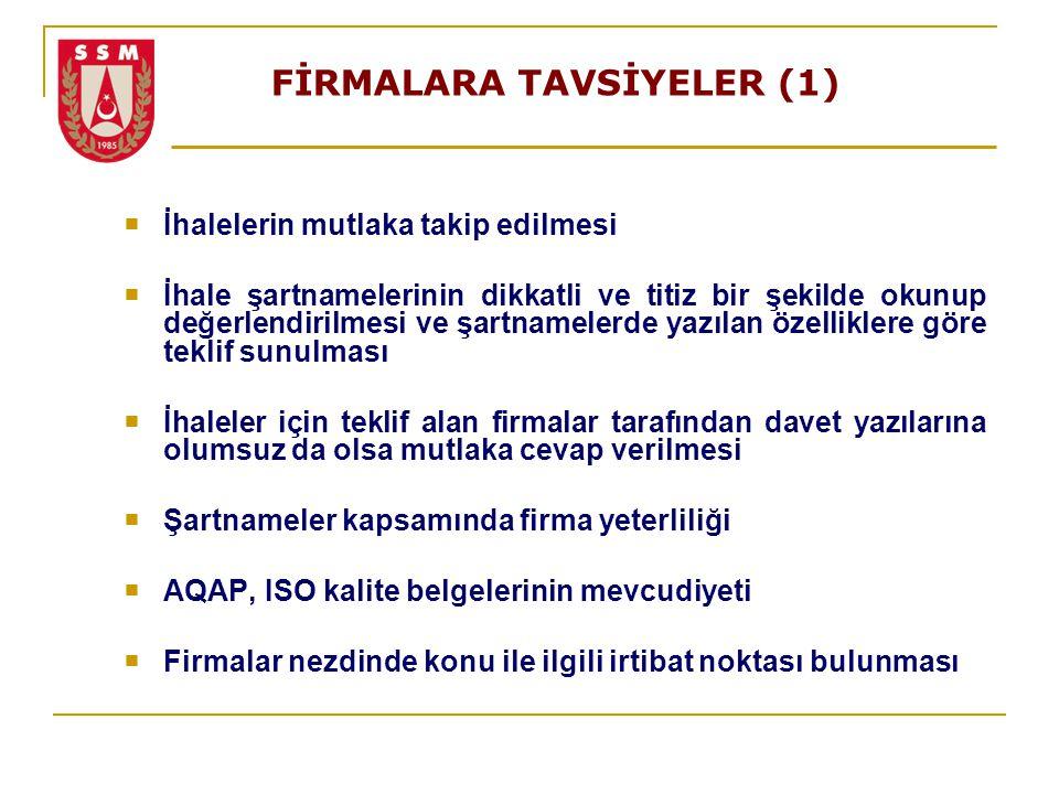 FİRMALARA TAVSİYELER (1)