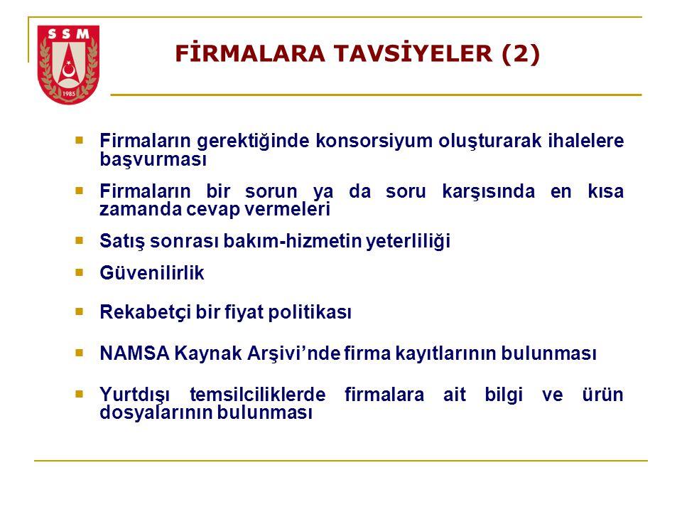 FİRMALARA TAVSİYELER (2)