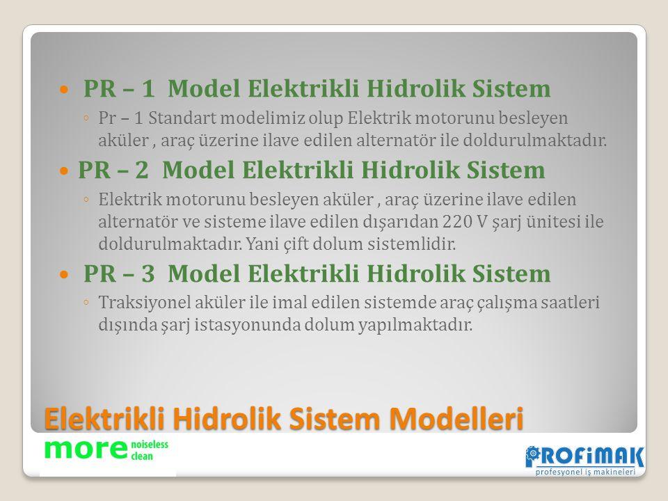 Elektrikli Hidrolik Sistem Modelleri