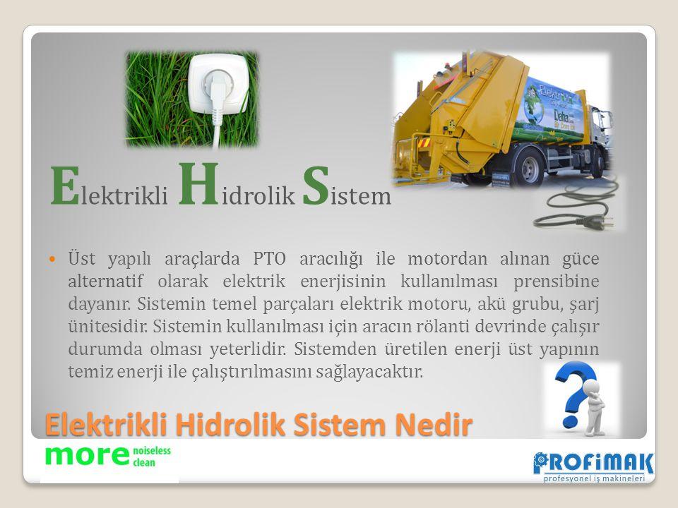 Elektrikli Hidrolik Sistem Nedir