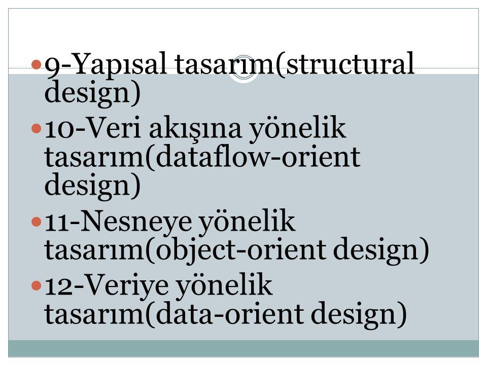 9-Yapısal tasarım(structural design)