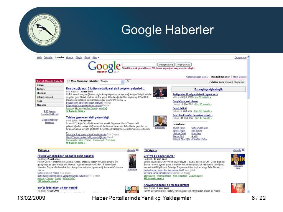 Haber Portallarında Yenilikçi Yaklaşımlar