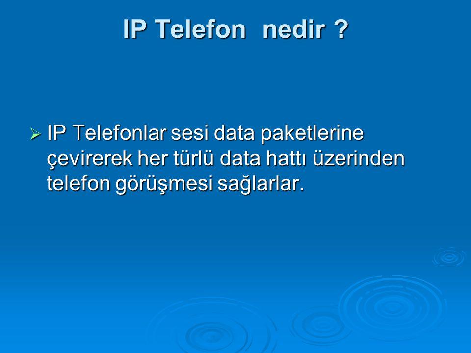 IP Telefon nedir .