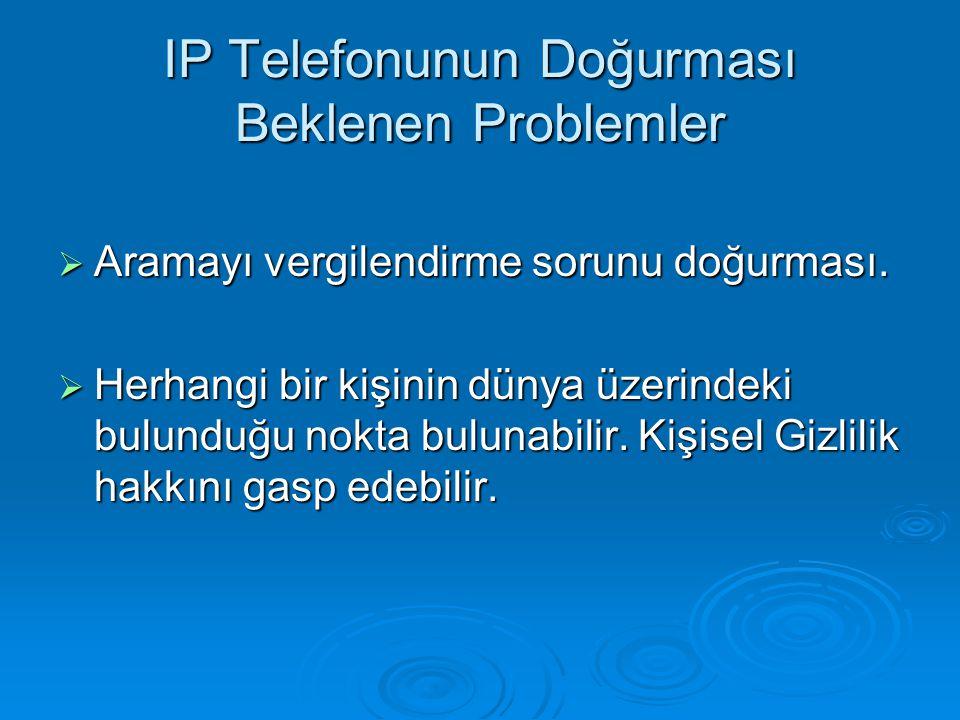 IP Telefonunun Doğurması Beklenen Problemler