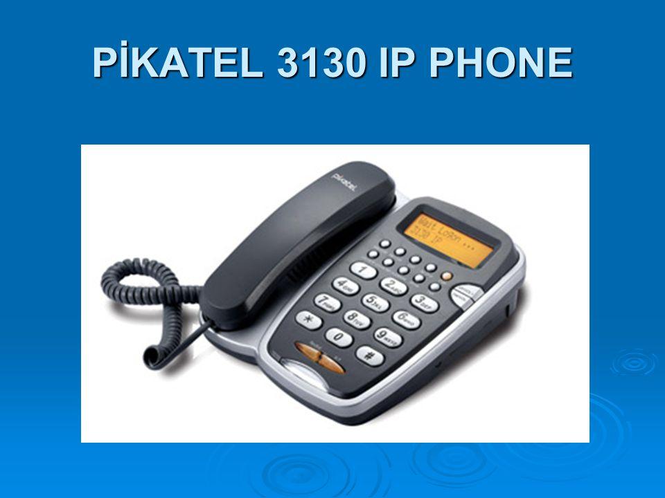 PİKATEL 3130 IP PHONE
