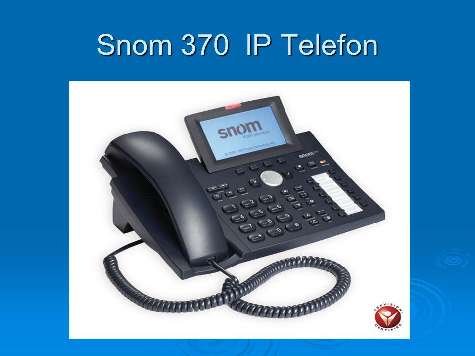 Snom 370 IP Telefon