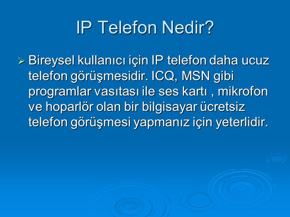IP Telefon Nedir