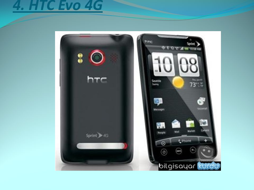 4. HTC Evo 4G