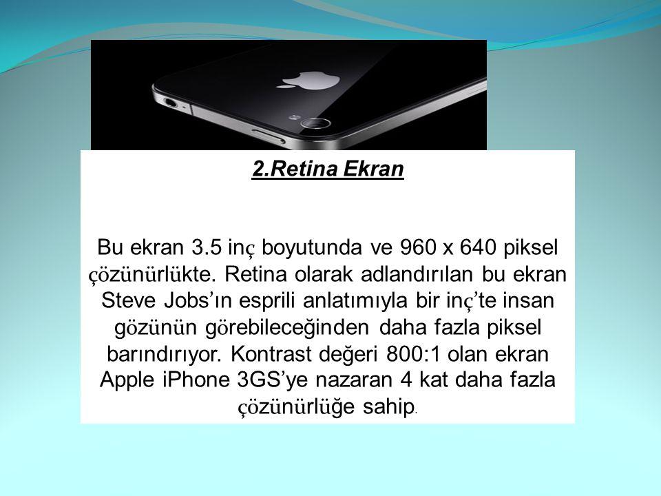 2.Retina Ekran