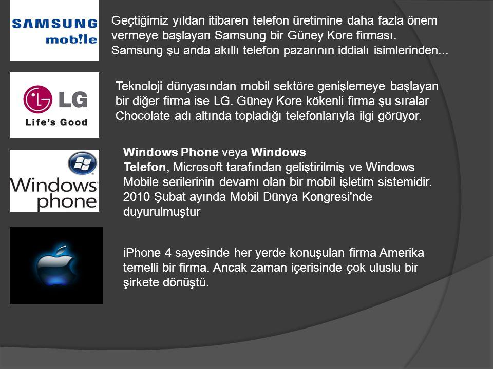 Geçtiğimiz yıldan itibaren telefon üretimine daha fazla önem vermeye başlayan Samsung bir Güney Kore firması. Samsung şu anda akıllı telefon pazarının iddialı isimlerinden...