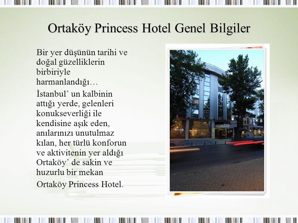 Ortaköy Princess Hotel Genel Bilgiler