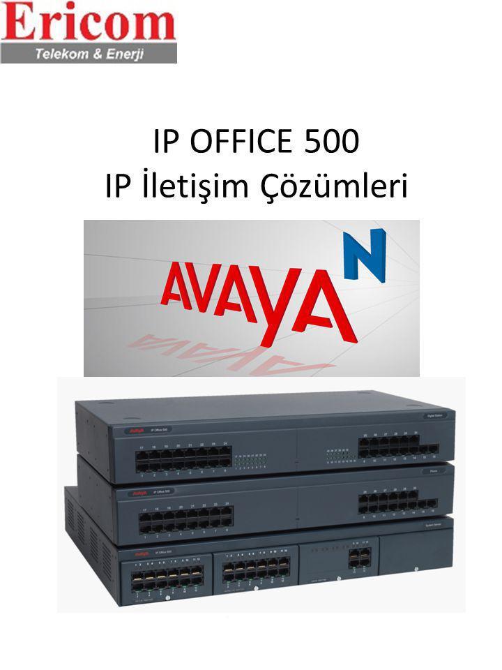 IP OFFICE 500 IP İletişim Çözümleri