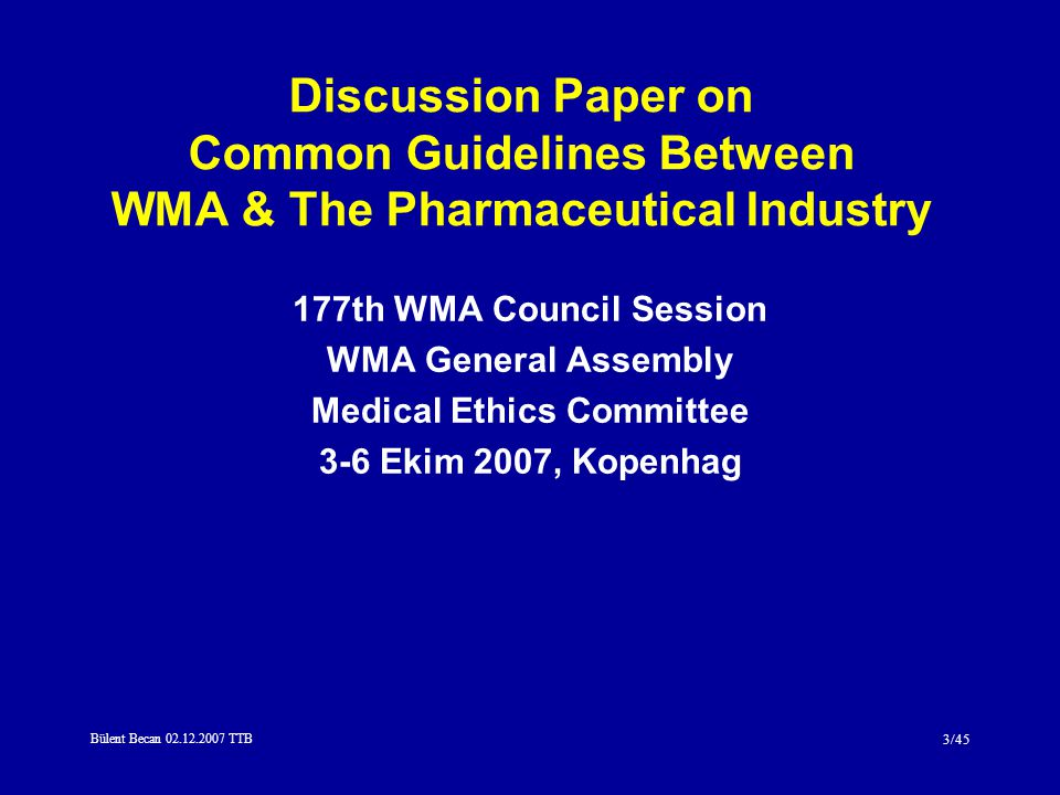 Medical Ethics Committee