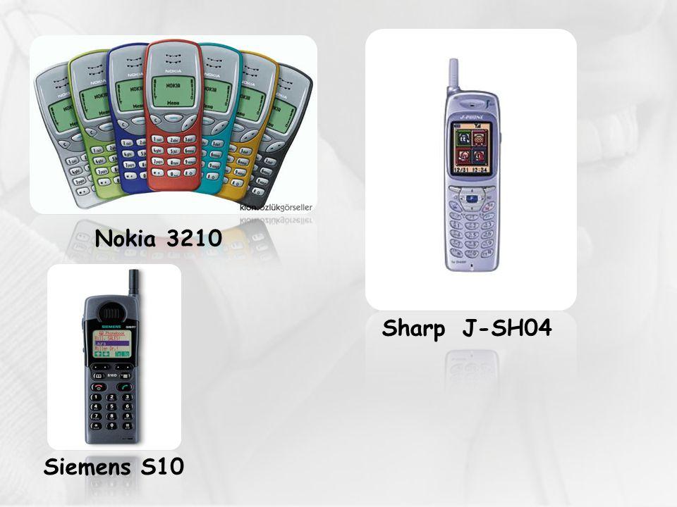 Nokia 3210 Sharp J-SH04 Siemens S10