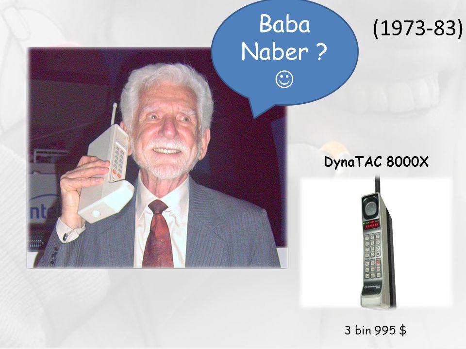 (1973-83) Baba Naber  DynaTAC 8000X 3 bin 995 $