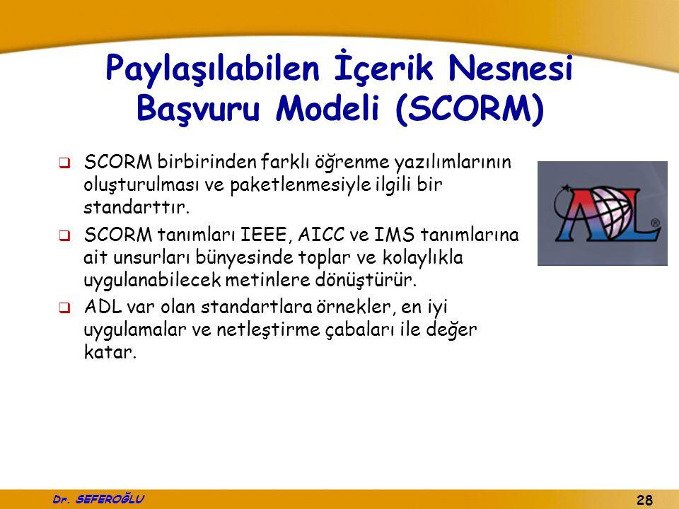 Paylaşılabilen İçerik Nesnesi Başvuru Modeli (SCORM)