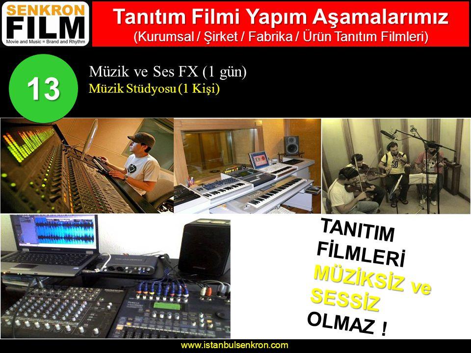 Tanıtım Filmi Yapım Aşamalarımız (Kurumsal / Şirket / Fabrika / Ürün Tanıtım Filmleri)