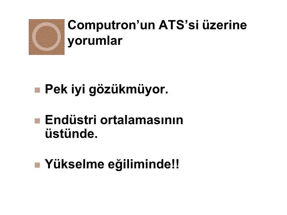 Computron'un ATS'si üzerine yorumlar
