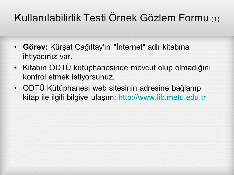 Kullanılabilirlik Testi Örnek Gözlem Formu (1)